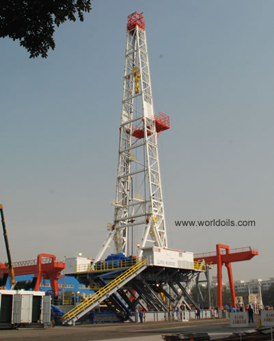 LS National Oilwell New SCR Land Rig - 2000hp - for sale