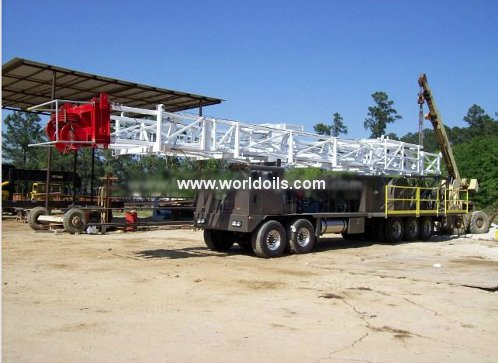 LTO 350 & 550 Cooper Copy Workover Rig - For Sale