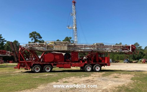 Workover Rig - Ideco Backin Rambler - For Sale