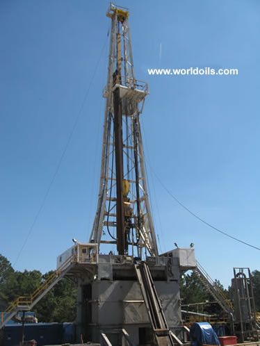 National 1320 Used Land Rig - 2000hp - for sale