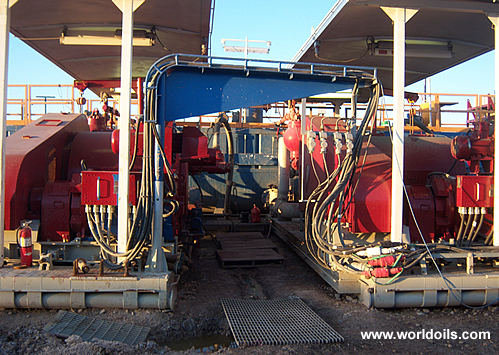 Used Drilling Rig - JC 40 DB draw-works - For Sale