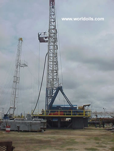 MAC 400 hp Mechanical Drilling Rig