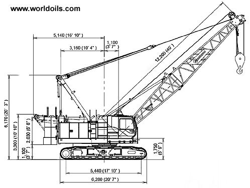 Manitowoc 8500-1 Crawler Crane for Sale