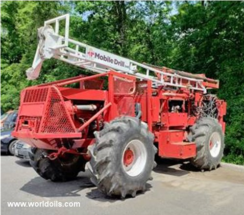 Mobile B57 Drilling Rig - 1988 Built - For Sale