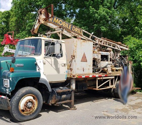 Mobile Drilling Rig - 1988 Built for Sale