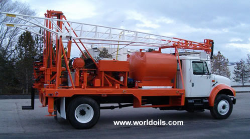 Mobile B61 Drill Rig - Rebuilt for Sale