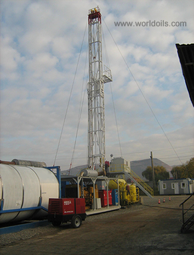 550HP Carrier Mounted Drilling Rig for Sale