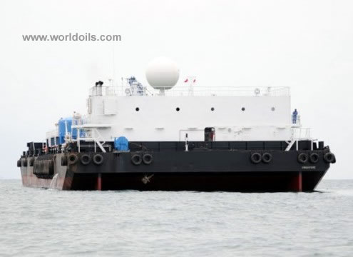 Mud Processing Barge for Sale