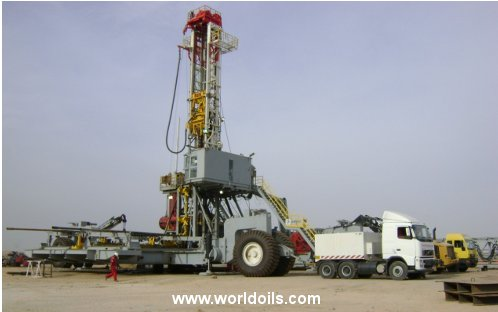 12,000 ft Drilling Depth Capacity Land Drilling Rig