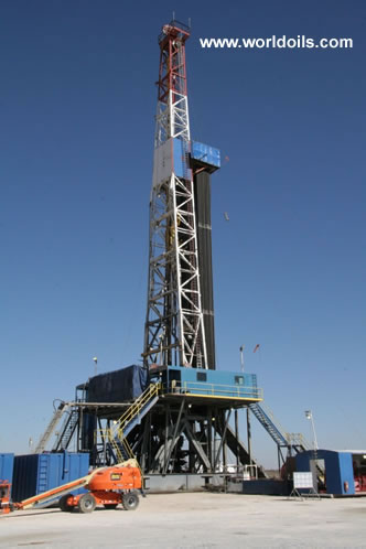National 1320 - 2000 hp SCR with Top Drive - Drilling Rig for Sale