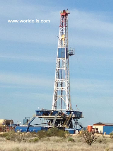 National 1320 - 2000 HP Drilling Rig for Sale