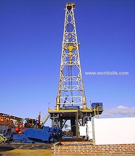 National 1320 UE Skid Mounted Electrical Rig for Lease - 2000hp