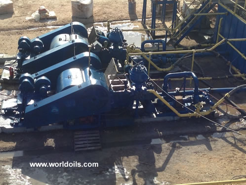 2000 hp SCR Drilling Rig in USA