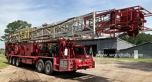 National Oilwell 5C Workover Rig for Sale