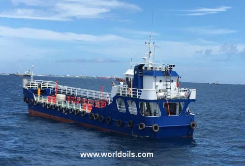 New Build Self Propelled Oil Barge for Sale