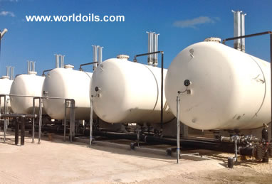 90,000 - 120,000 Gallon NGL/LPG Pressure Vessels for Sale