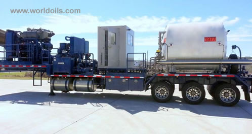 Nitrogen Pumping Unit for sale