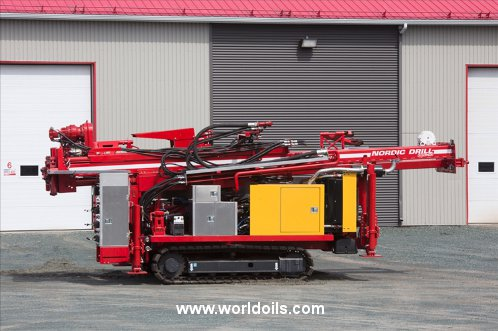 Nordic Drill DRC-10-A Crawler Drill Rig - 2017 Built for Sale