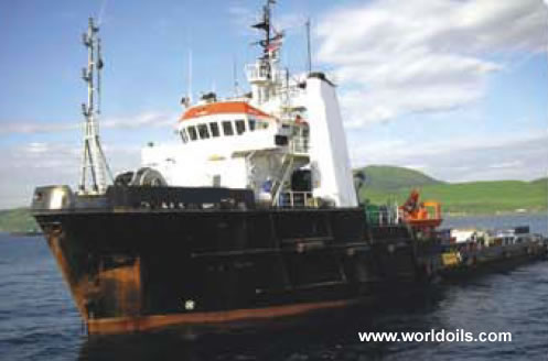 Offshore Tug Supply Vessel for sale