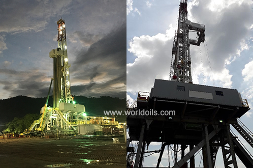 1600HP Sling Shot, Skidding, Triple Drilling Rig for Sale
