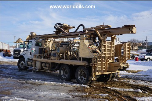 Rebuilted Gus Pech Three Drilling Rigs for Sale