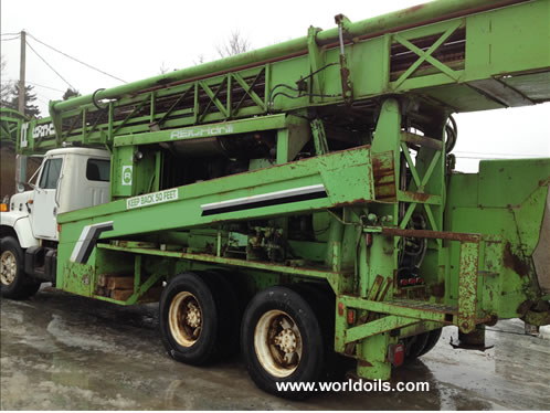 Reichdrill 650 Drill Rig for Sale in USA
