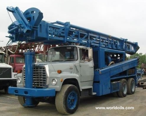 Reichdrill T-650-W Drilling Rig - 1986 Built - for Sale