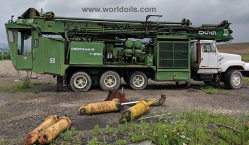 Reichdrill T-650 Blast Hole Drill Rig - 1989 Built - For Sale