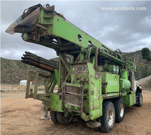Reichdrill T625 Used Drilling Rig for Sale