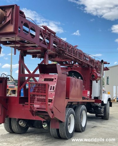 Reichdrill T650W Used Drilling Rig for Sale