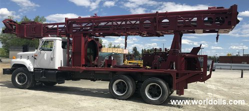 Reichdrill T650W Drilling Rig - For Sale