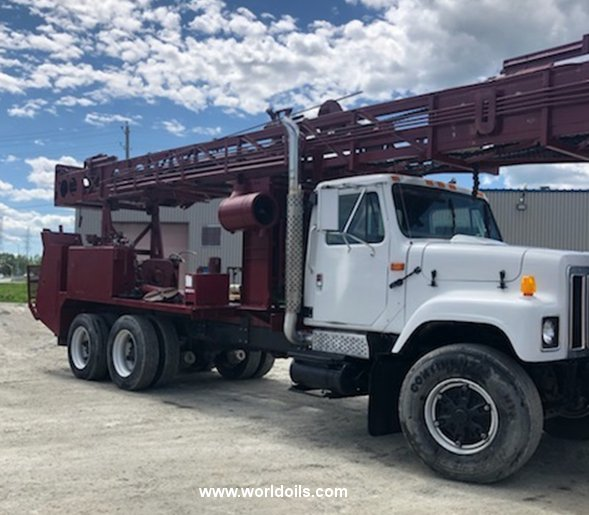 1991 Built Reichdrill T650W Drilling Rig for Sale