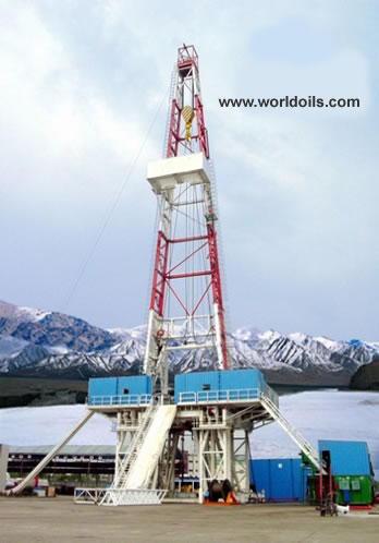 SCR Land Drilling Rig (Chinese) - 2000hp - for sale