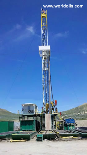 SK675 Carrier Mounted Drilling Rig - 675 hp - for Sale