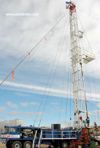 SRE 600 Double - 4200m - Used - Workover Rig - For Sale
