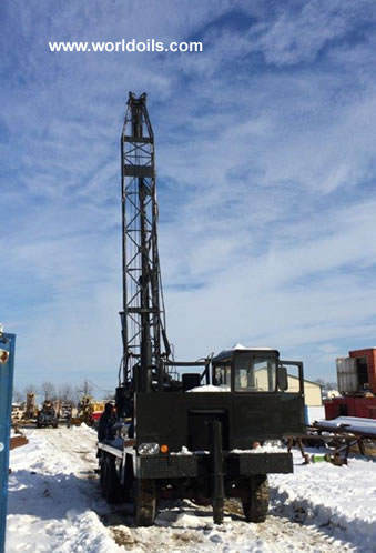 Sanderson-Cyclone Drill Co. 36-R Drill Rig & Package for Sale