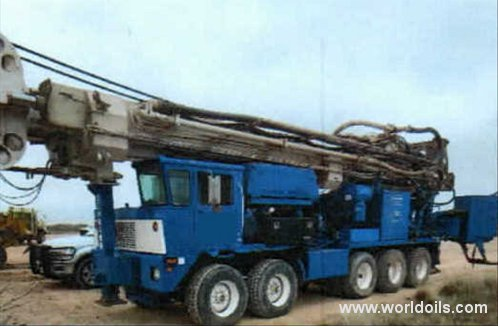 Drilling Rig - Schramm T130 - For Sale