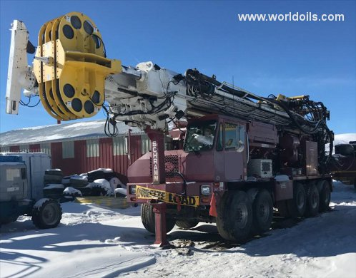 Schramm T130XD Drilling Rig - For Sale