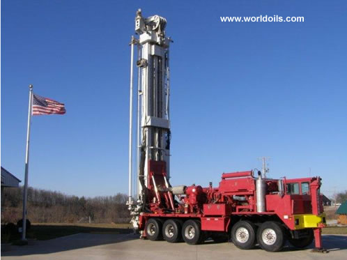 Schramm T130XD Drilingl Rig for sale