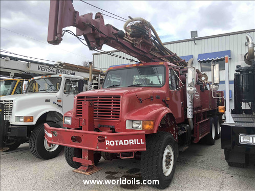 Schramm T300 Drill Rig For Sale