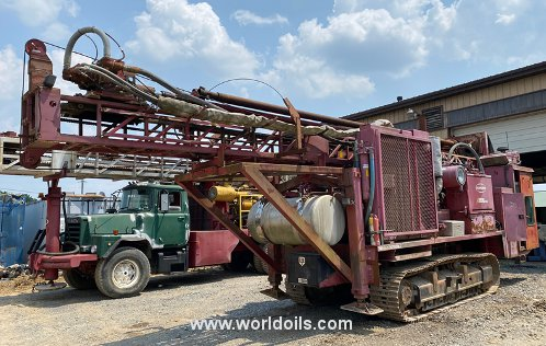Schramm T450 Crawler Drilling Rig for Sale