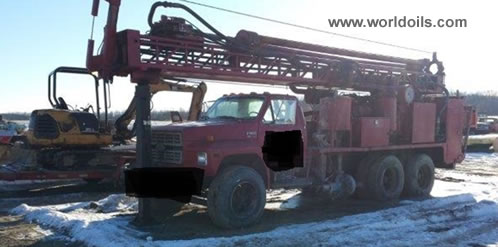 Schramm T450 Drill Rig - 1988 built - for Sale