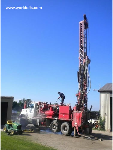 Drilling Rig - Schramm T450W - 1995 built - For Sale