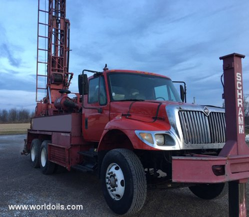 Schramm T450WS Used Drilling Rig for Sale