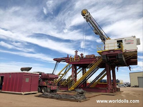 Schramm T500XD Drilling Rig - For Sale