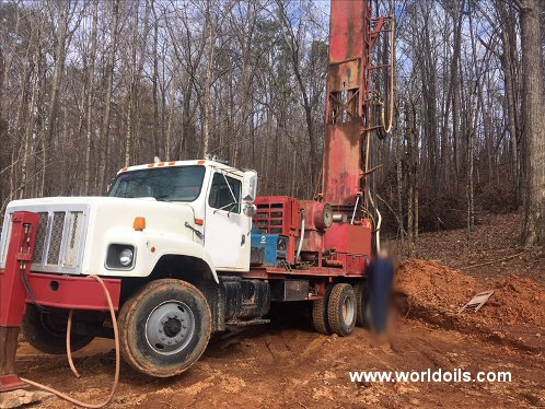 Schramm T64HB Drilling Rig - 1969 Built for Sale