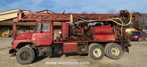 Used Schramm T64HB Drilling Rig for Sale