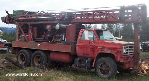Schramm T64HB Used Drilling Rig - 1978 built - For Sale