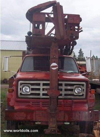 Schramm T64HB drill rig built 1978 For Sale