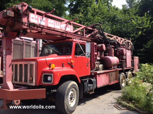 Schramm T660 Drill Rig - For Sale